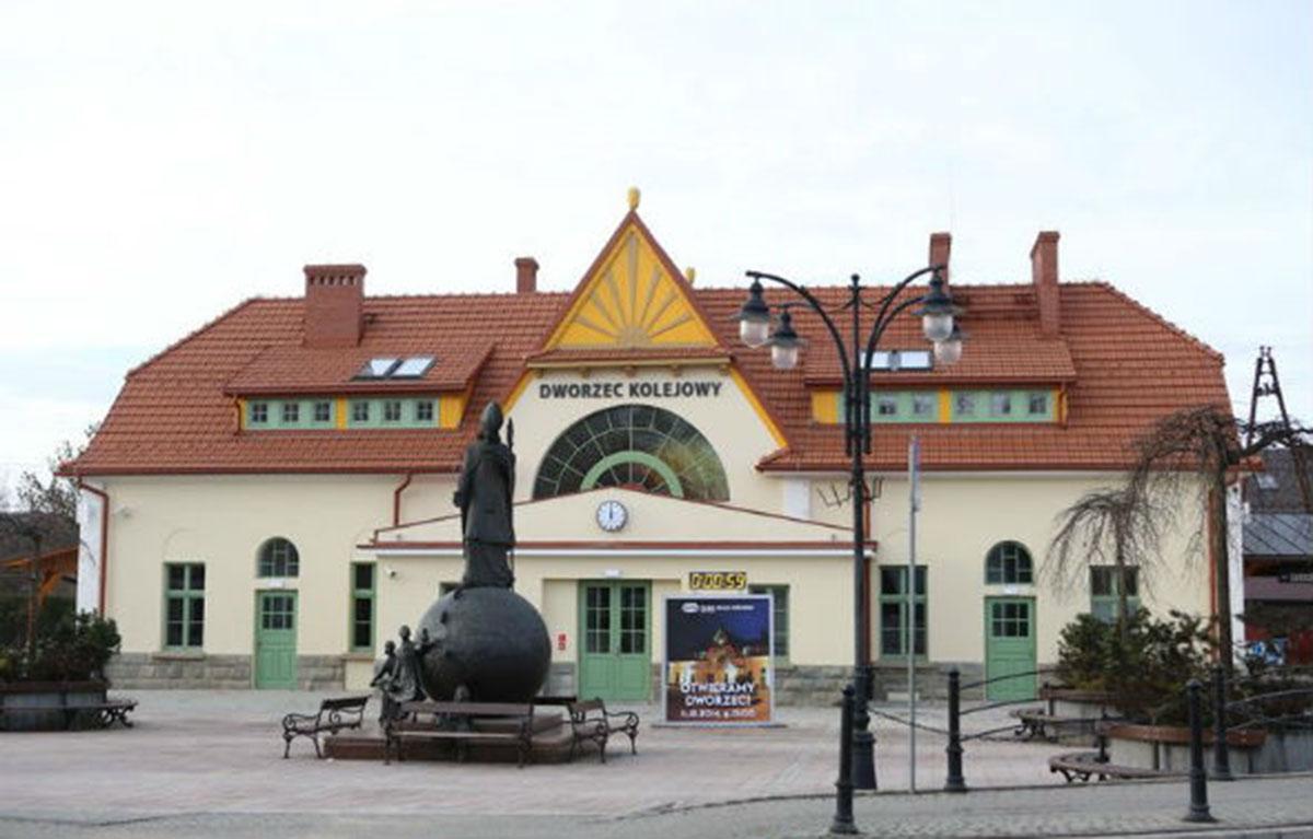 Dworzec z klimatem