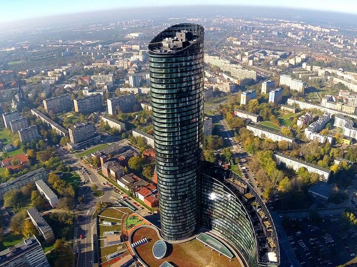 Sky Tower - nowy symbol Wrocławia