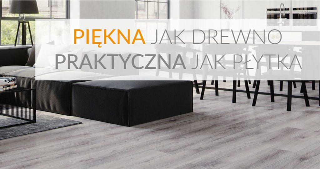 Nowe podłogi – piękne jak drewno, praktyczne jak płytki